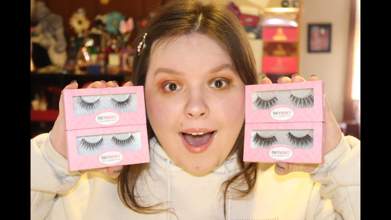 805cb88fd43 Inky Minky Lashes | Haul and Review - YouTube