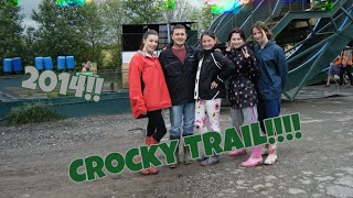 Crocky Trail clips! Part 1 of 5! Dad Falls! First visit! Chester Day out! 2014