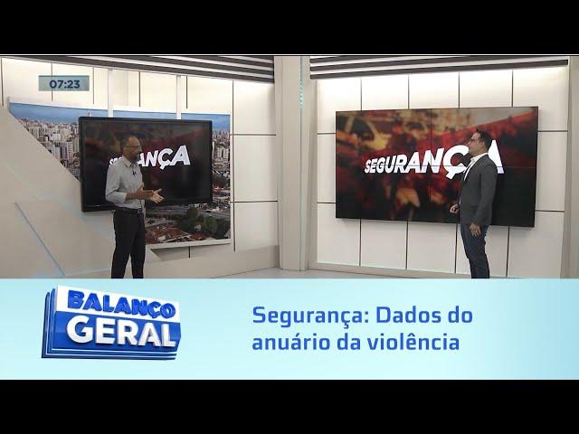 Segurança: Dados do anuário da violência apontam para crescimento de mortes violentas no Brasil