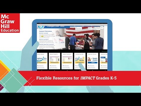 Flexible Resources for IMPACT Grades K-5