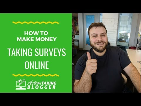 How To Make Money Taking Surveys Online (2018)