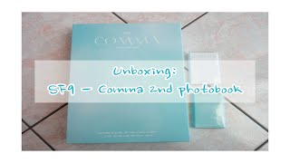 Unboxing: SF9 에스에프나인 - COMMA 2nd Photobook