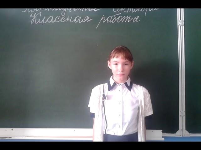 Изображение предпросмотра прочтения – ЕкатеринаОслина читает произведение «Летом» И.А.Белоусова