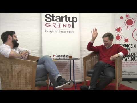 David Helgason (Unity) at Startup Grind Copenhagen