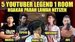 GILAA !! 5 YouTuber (Tepe46/Watchout/MarselJH/UnderYD/Aos) vs NETIZEN | Ngakak Parah - Point Blank