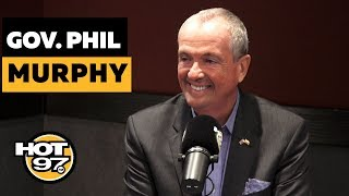 NJ Governor Phil Murphy On Marijuana Legalization, Newark Water Crisis, NJ Transit & 2020 Election