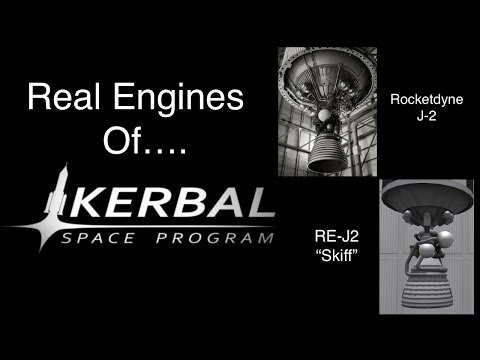 The Real Rocket Engines Of Kerbal Space Program: Making History