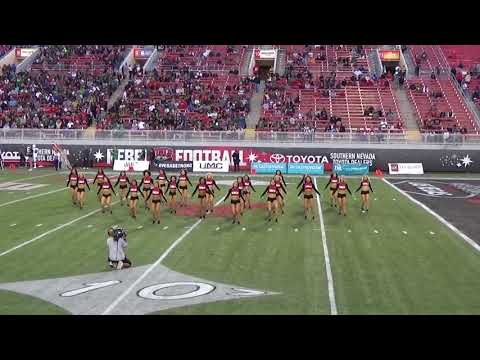 Rebel Girls Football Game Unlv Vs. Hawaii