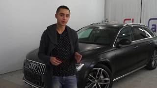 Черный сатин на Audi A6 allroad