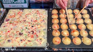 Japanese street food - TAKOYAKI  たこ焼き