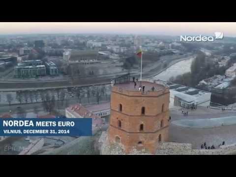 NORDEA pasitinka EURĄ, Vilnius 2014 12 31 // Promaksa.lt EPIC Media