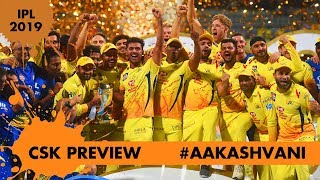 #IPL2019: CHENNAI SUPER KINGS: still the BEST? #AakashVani