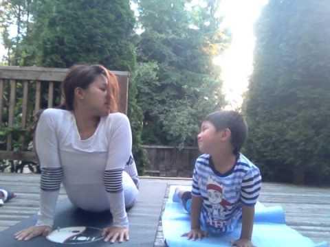 VLOG #69: Mommy & Son Yoga (8/17/13)