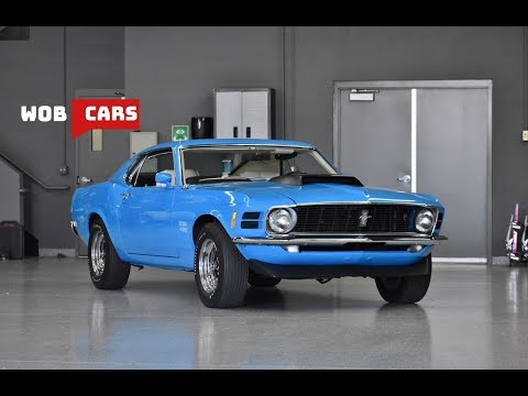Concours 1970 Ford Mustang Boss 429