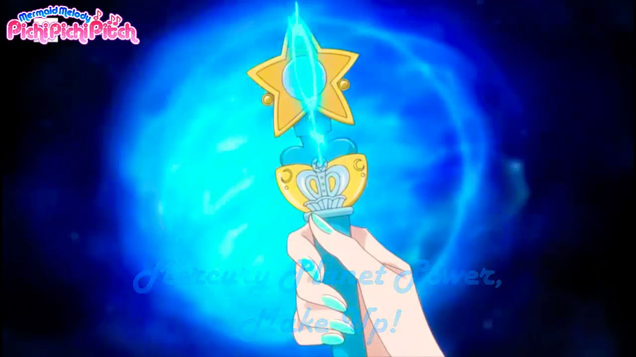 Sailor Moon Crystal - Inner Senshi Transformation - 90's music