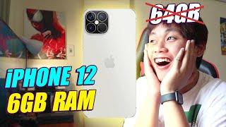 RÒ RỈ HOT VỀ iPHONE 12: LỘ CẤU HÌNH 6GB RAM, BỘ NHỚ 128GB, KHÔNG CÓ USB-C...