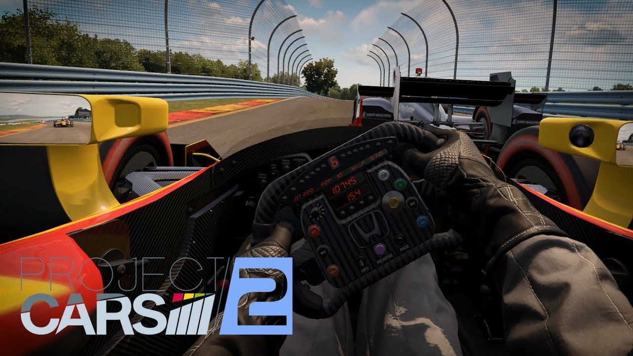 Project Cars 2 Driver Eye Indy Honda Watkins Glen Vr
