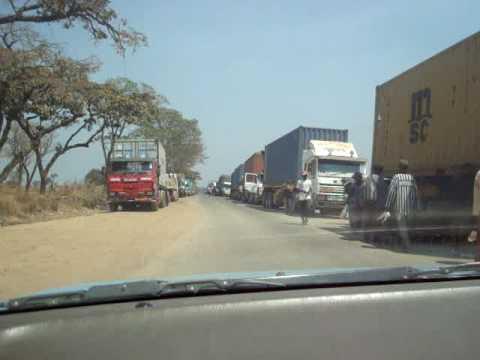 Kasumbalesa Zambian side - Kasumbalesa cote Zambien