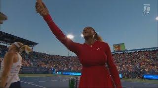 Serena Williams' presence sheds light on postpartum depression