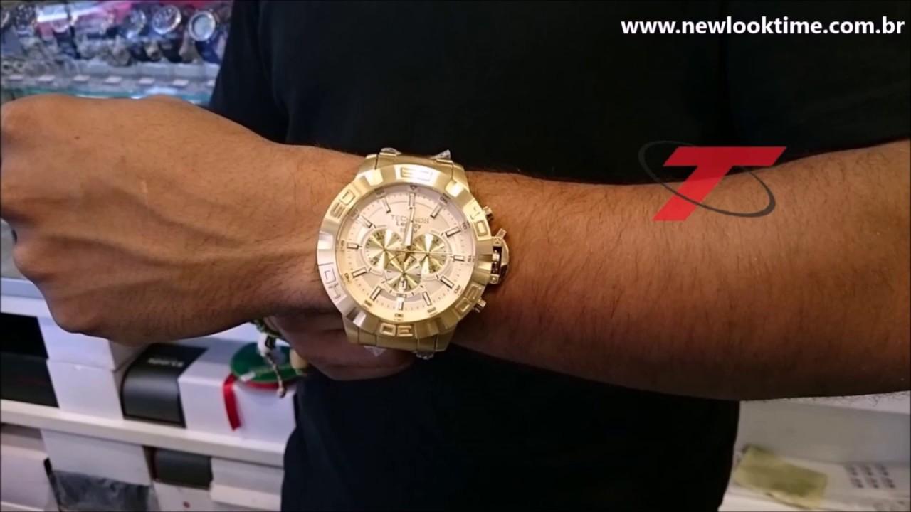75fa79127bb Apresentação rápida do Relógio Technos JS25BA 4X - New Look Time Relógios -  YouTube