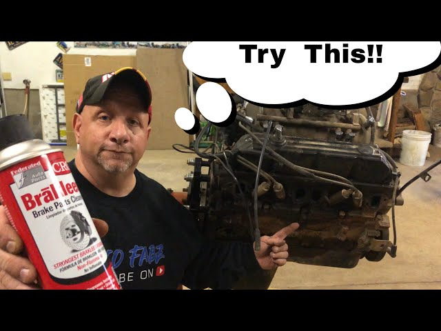 Best Way To Degrease Your Engine!
