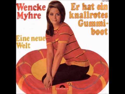 Wencke Myhre - Er hat ein knallrotes Gummiboot -