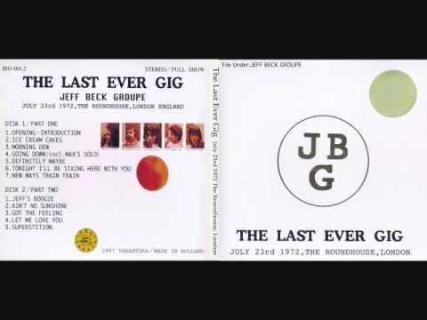 Jeff Beck Group- London Roundhouse 7/23/72