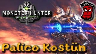 Monster Hunter World: Horizon Zero Dawn Palico Rüstung bekommen! | Gameplay [German Deutsch]