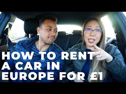 CHEAPEST CAR RENTAL IN EUROPE | How To Rent A Car In Europe For ONLY £1?