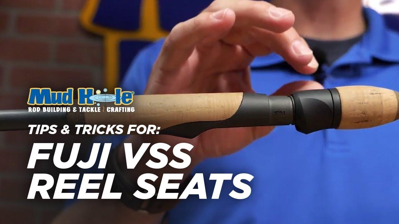 Tackle Split Grip Spinning Rod Handle Kit Reel Seat for Fishing Rod Building