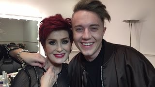 We're live in Sharon's dressing room talking all things X Factor...