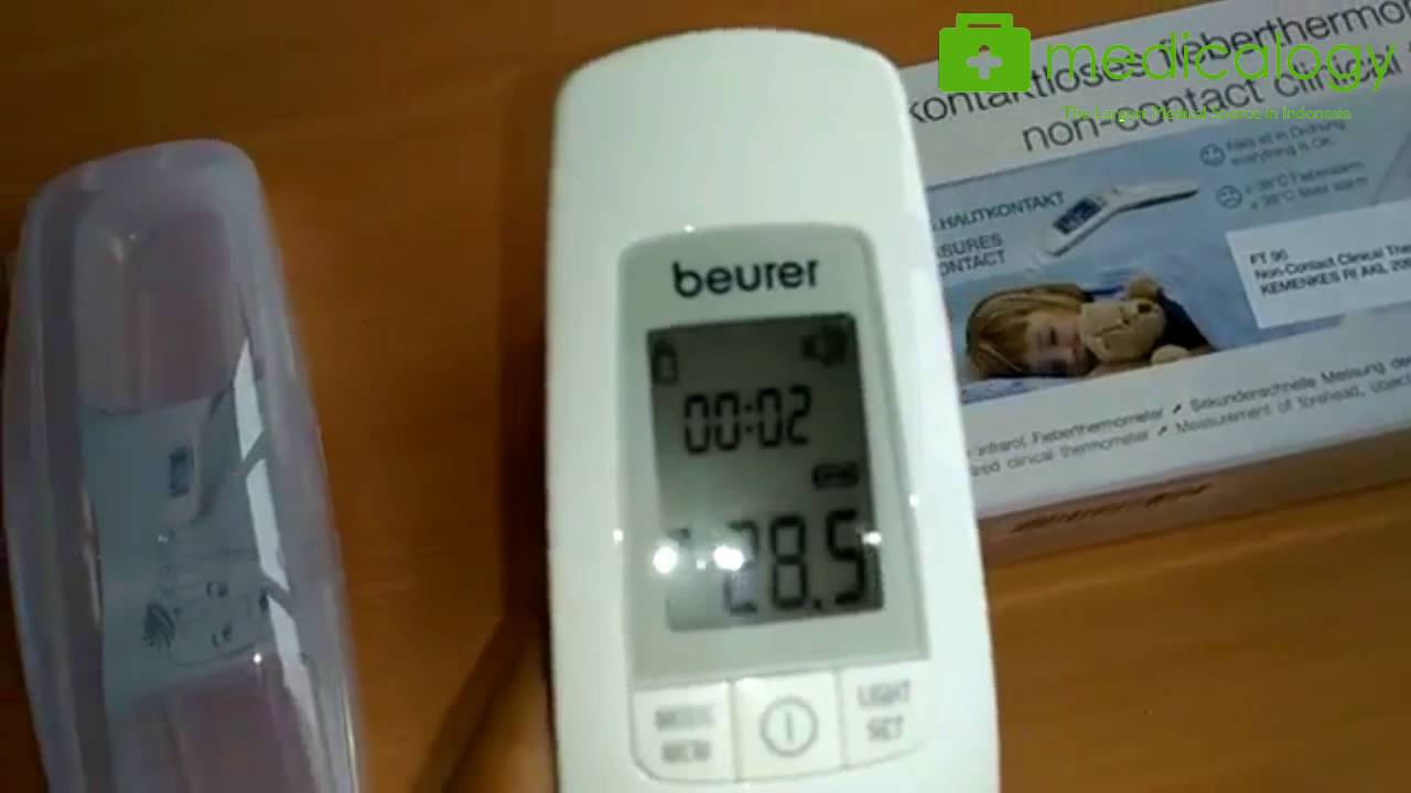 beurer febertermometer test