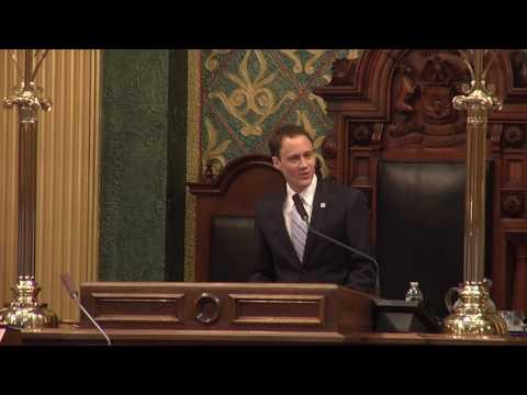 Acceptance Speech by Speaker Tom Leonard