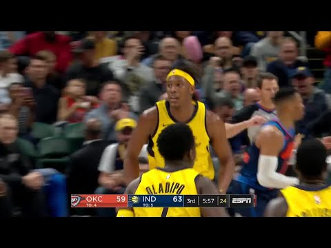 3rd Quarter, One Box Video: Indiana Pacers vs. Oklahoma City Thunder