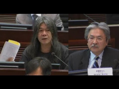 Finance Sec. John Tsang refuses questions from pro-democracy lawmakers