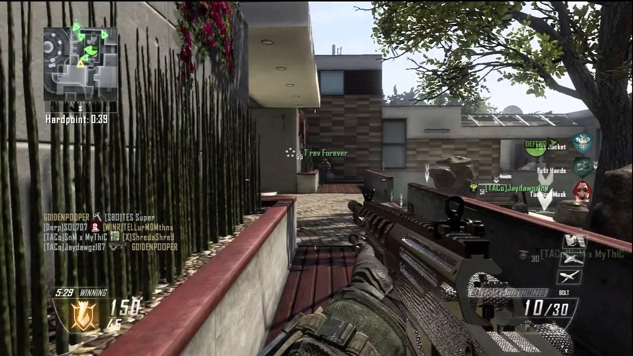 black ops 2 quotdiamond iron sight ballista sniperquot gameplay