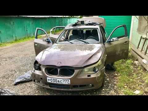 BMW после вандалов. Удастся ли её запустить и уехать. Решала 6.
