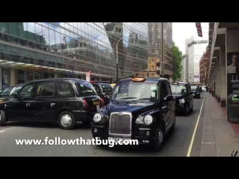 London Cab Strike