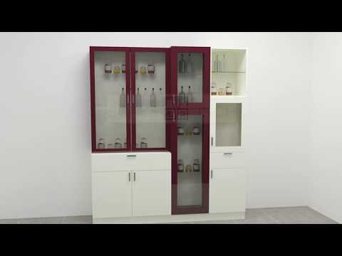 Crockery Unit Online India By Scale Inch