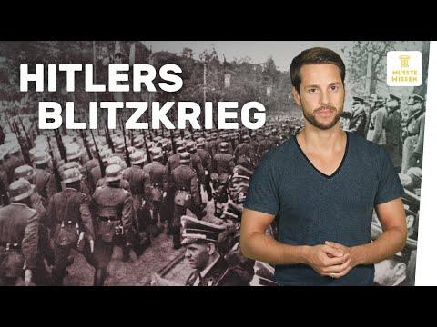 Beginn Des Zweiten Weltkriegs   Geschichte Hitlers Blitzkrieg