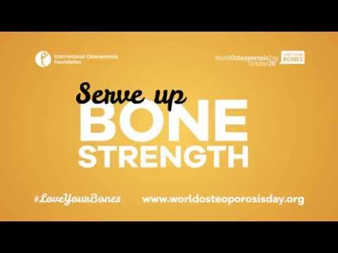 Serve Up Bone Strength - preventing osteoporosis through nutrition