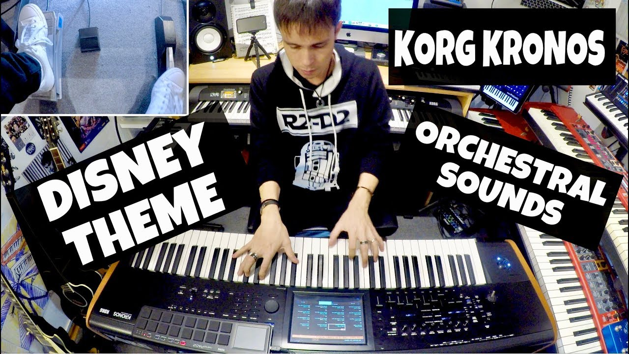 Disney Theme - KORG KRONOS Orchestral Sounds DEMO (by Kokiman Romero)