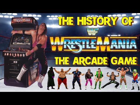 The History Of WWF Wrestlemania The Arcade Game – Arcade/console Documentary WWE