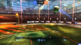 First Rocket League Goal!!