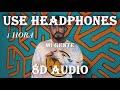 -1 HORA- Mi Gente 8D Audio