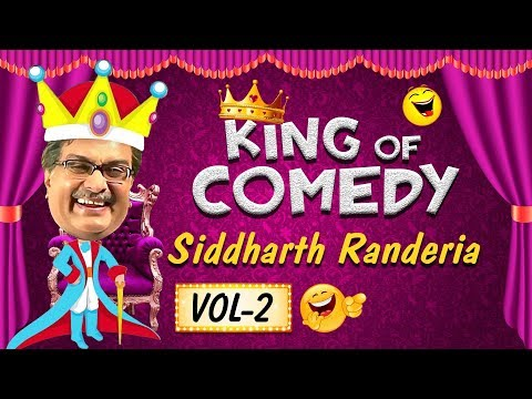 Siddharth Ranederia (GUJJUBHAI) - The King of Comedy Vol. 2  Best Comedy Scenes