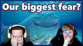 During a Let's Play we got off on a tangent and started discussing our biggest fear.