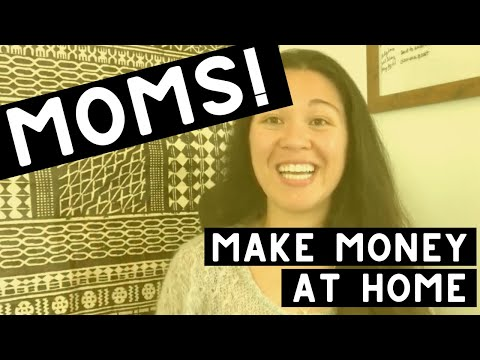 HOW TO MAKE MONEY AS A STAY AT HOME MOM (REAL ways I've made money from home!!!)