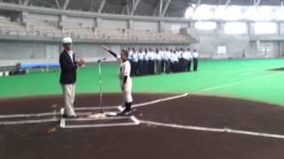 ホクレン旗石狩支部予選 選手宣誓