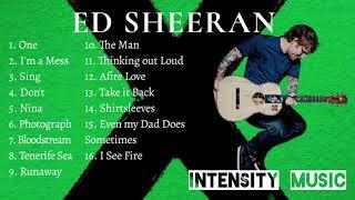 "Ed Sheeran's Album ""X"" Complete Songs Compilation"
